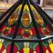 A Villás Galéria ólomüveg díszítései