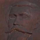 Csíktaplocai Xantus János domborműve