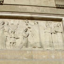 A budapesti Eucharisztikus kongresszus emléktáblája