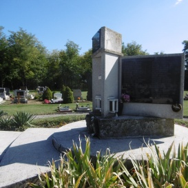 I. és II. világháborús áldozatok emlékműve