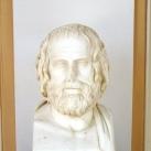 Euripidész mellszobra