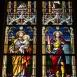 Mettercia-kápolna üvegablakai