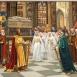 Zsigmond király találkozása Jagelló Ulászlóval Szent László sírjánál