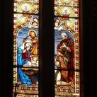 Pécskai római katolikus templom üvegablakai 2.