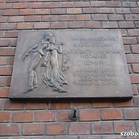 Gróf Batthyány Gyula domborműves emléktáblája