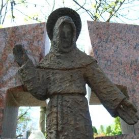 Assisi Szent Ferenc - Herczeg család síremléke