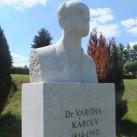 Vargha Károly mellszobra