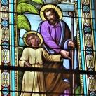Sarlós Boldogasszony-templom üvegablakai
