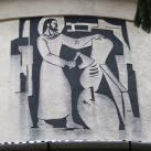 Munkás Szent József-templom sgraffitói