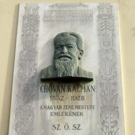 Chovan Kálmán-emléktábla