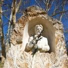 Gottlieb Haberlandt emlékműve