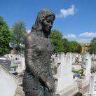 Gyászoló nő