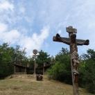 Szabadtéri oltár és feszület