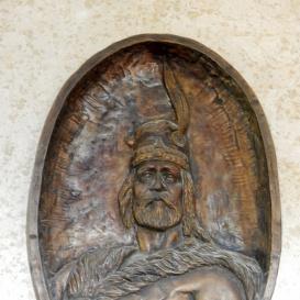 Árpád fejedelem-emléktábla