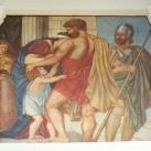 Az Ádám-palota erkélyének festményei