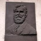 Toldy Ferenc domborműves emléktábla