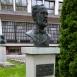 Louis Pasteur mellszobra
