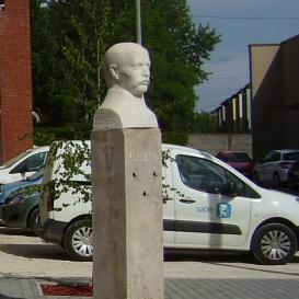 Gábor Áron mellszobra