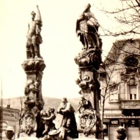 Szent Flórián-szoborcsoport