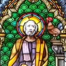 A Páli Szent Vince plébániatemplom oldalhajójának ablakai I.