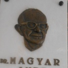 Dr. Magyar Imre-emléktábla