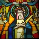Mária üvegablak