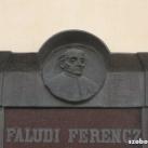 Faludi Ferenc domborműves emléktábla