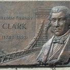William Tierney Clark-emléktábla