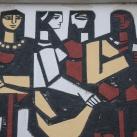 Sgraffito - Zenélő lányok