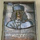 II. Rákóczi Ferenc emléktáblája