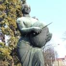 Kenyérszegő szobra