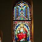 A Rózsafüzér királynéja templom üvegablakai 1.