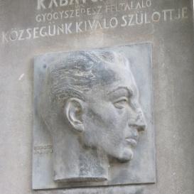 Kabay János-emléktábla
