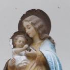Mária a kisded Jézussal