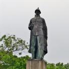 A román katona emlékműve