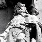 Országház - nyugati homlokzata: I. (Anjou) Károly