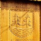 Balatonfenyves köszöntő táblája