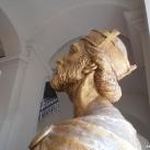 Szent László-mellszobor