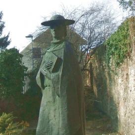 Janus Pannonius szobra