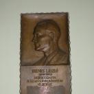 Dienes László domborműves emléktáblája