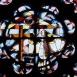 Békéscsabai római katolikus templom üvegablakai 5.