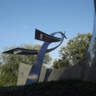 A lengyel pilóták emlékműve