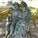 Család-szobor