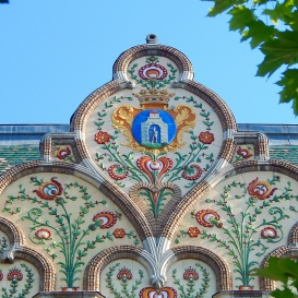 Városháza szecessziós díszei