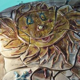 Alföldi utcai kerámia falikép