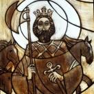 A Szent Kamill kápolna üvegablakai
