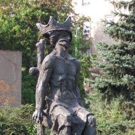 Dózsa György szobra