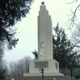 ll. világháborús szovjet emlékmű