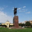 I. Tomiszláv horvát király lovasszobra