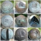 Naprendszer-modell-szoborcsoport
